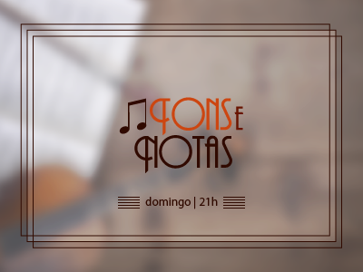 Logo do programa Tons e Notas
