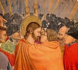 O Beijo de Judas, obra do pintor italiano Giotto
